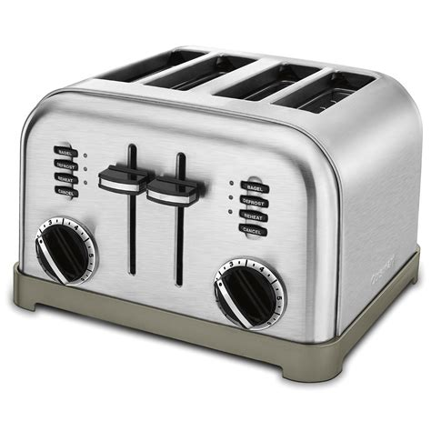Cpt 180 Toaster cuisinart cpt 180 metal classic 4 slice toaster brushed stainless 86279003775 ebay