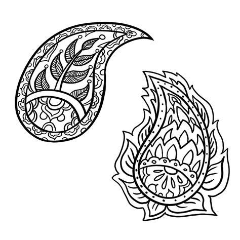 simple drawing patterns how to draw a paisley design in 6 steps people and