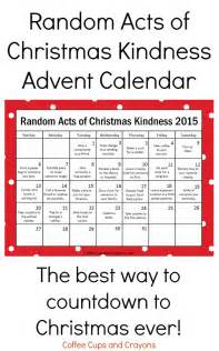 For 2015 the popular free printable random acts of christmas kindness