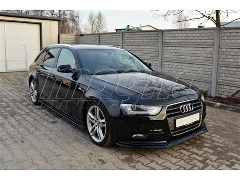 Audi B8 8k by Audi A4 B8 8k Facelift Master Front Bumper Extension