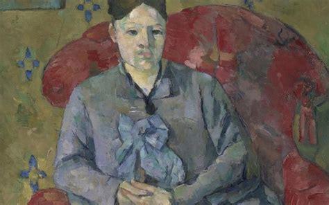 madame cezanne in a red armchair il ritratto secondo c 233 zanne in mostra a washington sky
