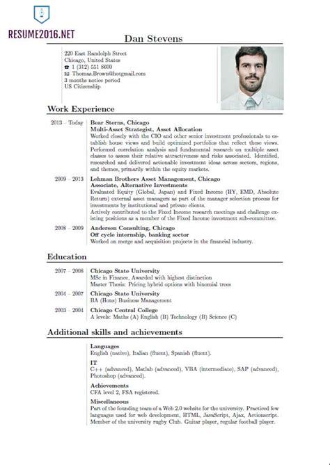 sample of latest resume for freshers copy cv in 2016 latest resume