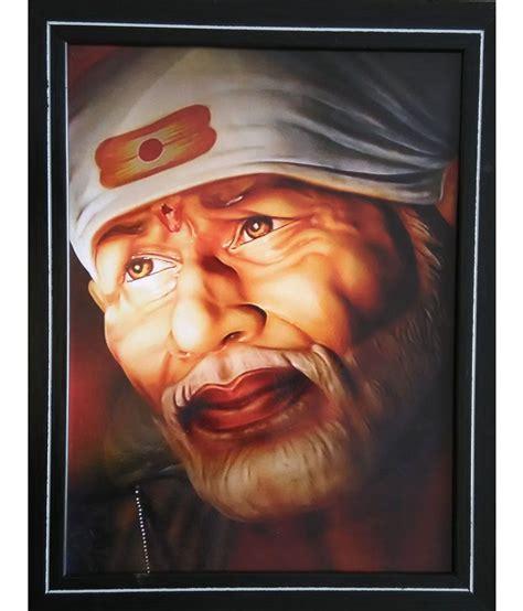 Home Decor Products In India tjar sai baba face painting buy tjar sai baba face