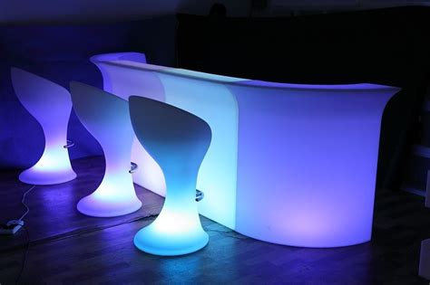 light up your led garden furniture light up your outdoor space
