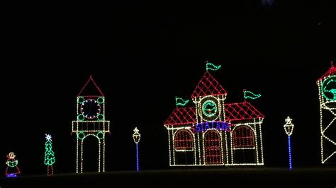 seneca park lights seneca creek park winter lights 2017 gaithersburg maryland