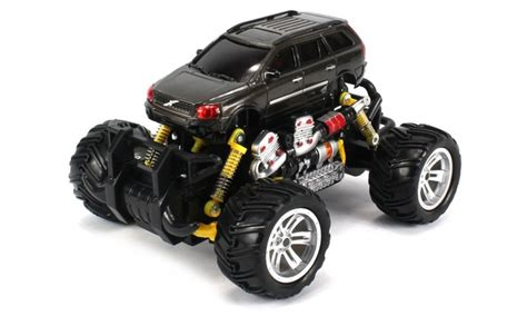 volvo xc station wagon rc  road monster truck  wd colors vary groupon