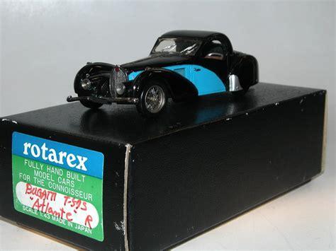 1937 Bugatti Type 57s Atalante by Rotarex Japan 1937 Bugatti Type 57s Atalante Handbuilt