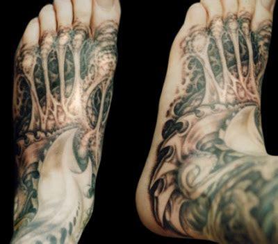 biomechanical zombie tattoo hot pics celebrity