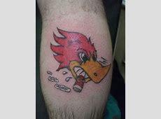 Woody Woodpecker Tattoo Tribal Hand Tattoo Designs