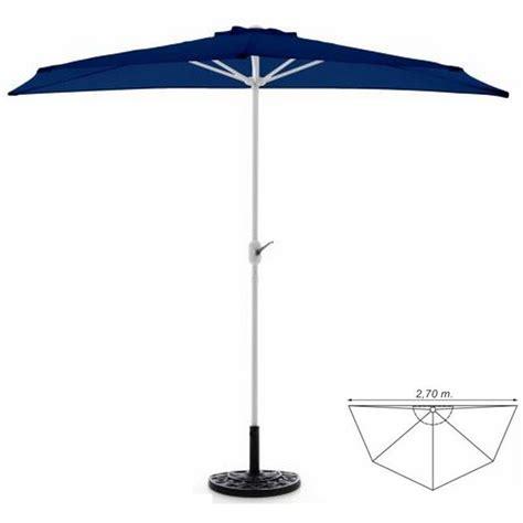 ombrelloni per terrazzo ombrellone da parete per balcone o terrazzo a mezzaluna