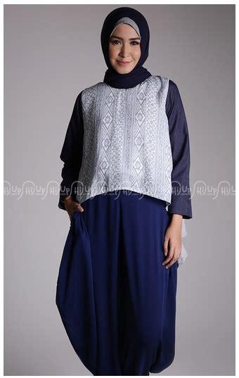 Busana Muslim Terkini style fashion busana muslim terkini dengan bahan denim
