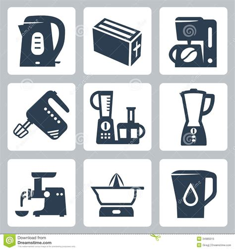 home kitchen icons free icons