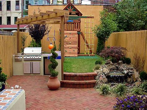 small backyard ideas for kids getting creative with a small backyard blissfully domestic