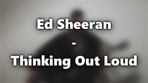 download mp3 ed sheeran thinking out loud acoustic ed sheeran thinking out loud acoustic live cover youtube