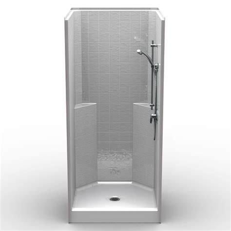 Shower Curb Height by Single Curbed 36 Quot X 36 Quot X 79 Quot Shower Curbed