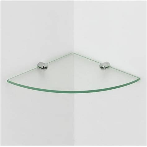 glass corner bathroom shelves 4mm clear shelves glass tempered bathroom floating corner