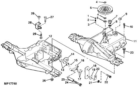 stx38 parts diagram deere stx38 brake challenges mytractorforum