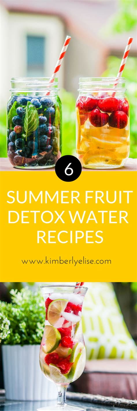 Can You Eat While Detox Water by 6 Fruit Infused Detox Water Recipes Elise