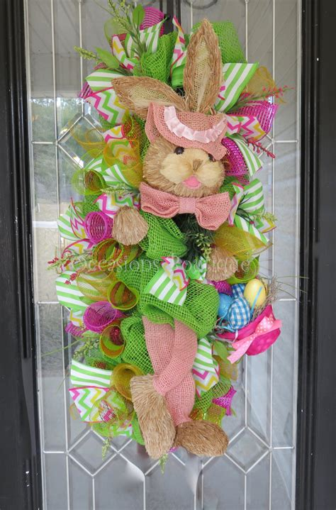 easter wreaths for front door easter wreath wreath easter door swag front door