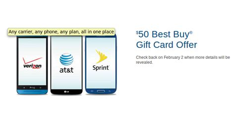 Best Buy Gift Card Activation - best buy gift card deal 50 towards any phone on any plan upgrades and port ins