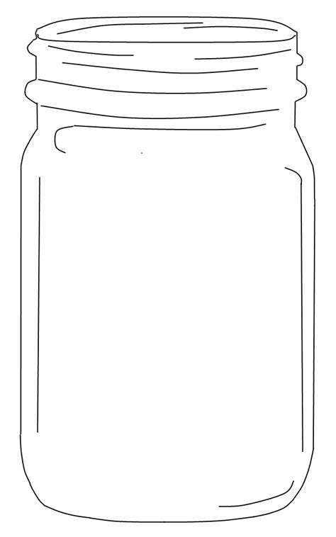 jar printable template free jar clip an element for use in the