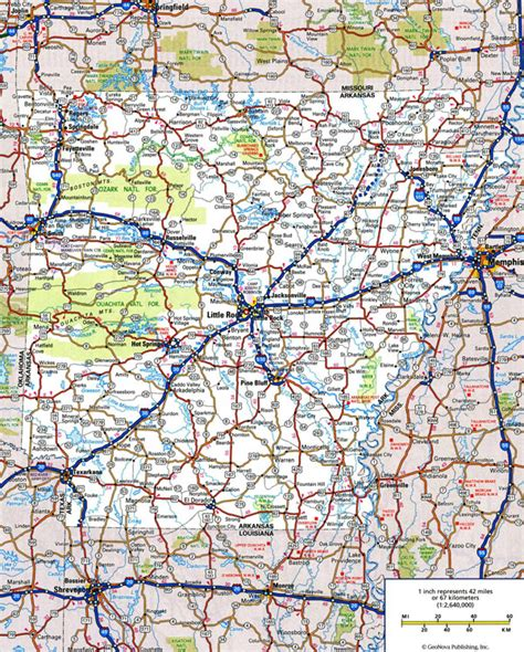 arkansas map with cities large detailed roads and highways map of arkansas state