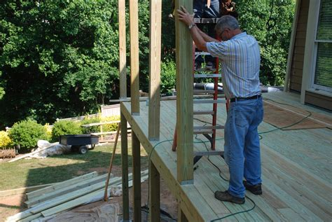 Adding Shed Roof Deck - decks building a shed roof a deck