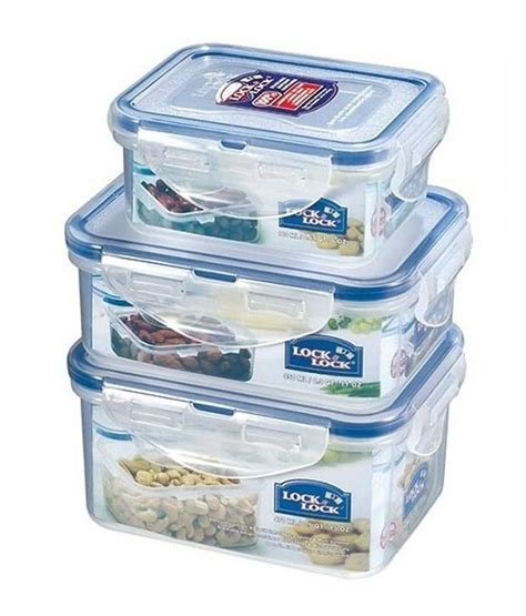 Panci Lock N Lock lock n lock airtight storage container set of 3 buy