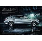 Werbung F&252r Den CLS Shooting Brake Startet  Mercedes Benz Passion