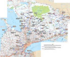 maps ontario canada geography maps of ontario