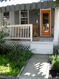 orange exterior house colors exterior house colors orange door curb appeal pinterest
