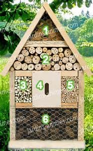 maison hotel observation des insectes et abri maisons