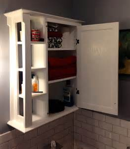 wall cabinets for bathrooms bathroom wall cabinet by douglas lumberjocks