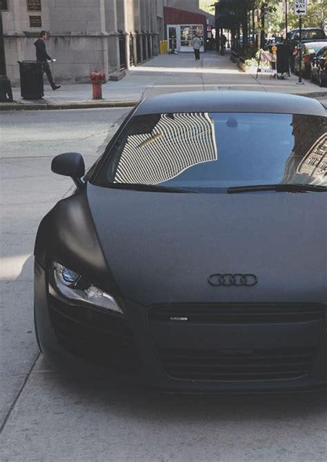 matte black car matte black audi and audi r8 on pinterest