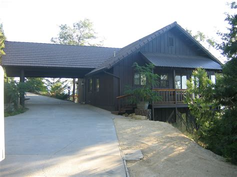 houses with carports the logger s retreat a family vacation home info