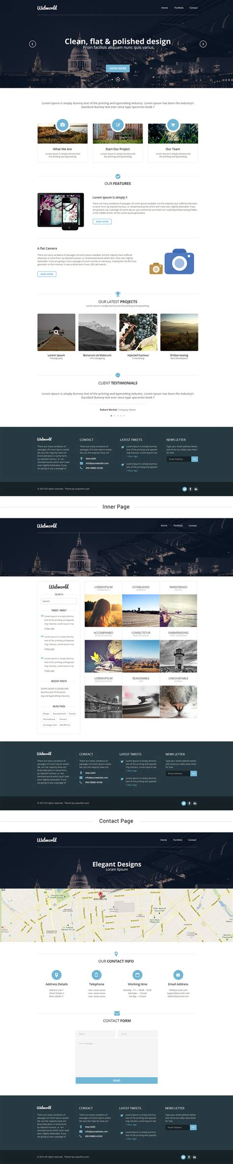templates for corporate website corporate website templates psd www imgkid com the