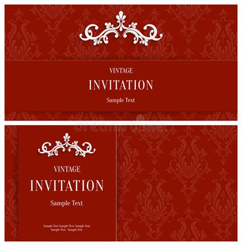 3d Invitation Card Template by Vector Floral 3d Background Template For Or