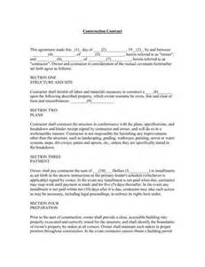 construction contract template cyberuse