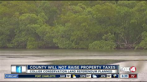 Collier County Property Tax Records Collier County Will Not Raise Property Taxes