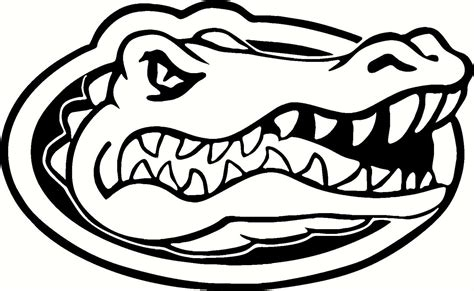 florida alligator coloring page florida gators wallpapers sports hq florida gators