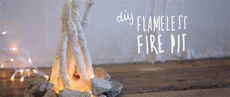 diy flameless pit