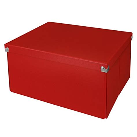 Decorative File Storage by Pop N Store Decorative Storage Box With Lid Collapsible