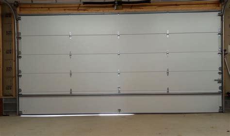 garage door has gap at bottom before after gallery garage door seal threshold seal