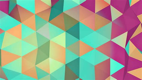energizing colors triangles hipster animation retro pattern of geometric