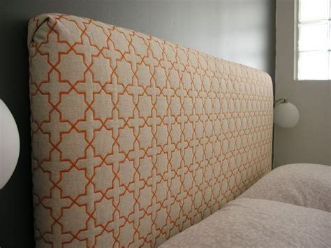 how to make own headboard i don t love the fabric but here are instructions on how