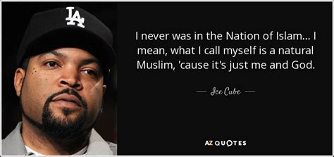 Out And About Nation by Cube Quote I Never Was In The Nation Of Islam I