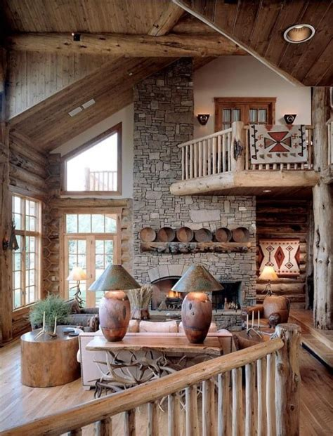 Rustic Home Decor Magazines | 55 airy and cozy rustic living room designs digsdigs