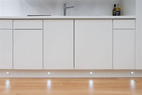 plinth kickboard lighting is a must home kitchen