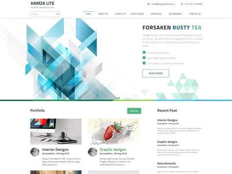 69 best responsive free wordpress themes with slider fine slider wordpress theme images exle resume ideas