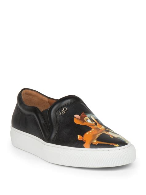s givenchy sneakers givenchy leather skate sneakers in black for lyst